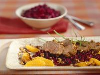 Venison Fillet with Red Cabbage recipe