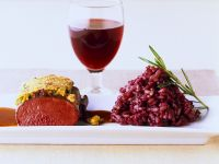 Venison Fillet with Risotto