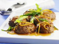 Venison Meatballs with Orange Sauce recipe