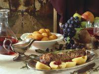 Venison Roast with Apples recipe