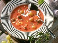 Venison Soup with Grapes recipe