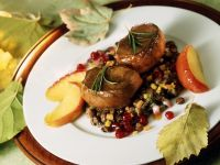 Games Steaks with Lentil Ragout recipe