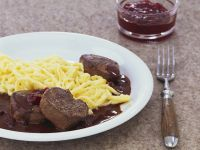 Venison with Chocolate Sauce recipe
