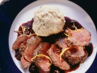 Venison with Elderberry Sauce recipe