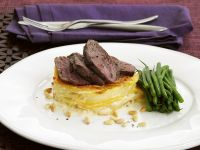 Gourmet Game Meat with Dauphinoise recipe