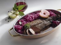 Venison with Red Cabbage recipe
