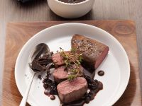 Venison with Spicy Sauce recipe