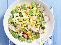 Vibrant Fava and Corn Salad recipe