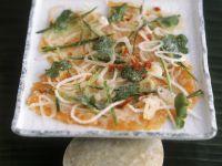 Vietnamese-style Marinated Salmon with Cucumber, Radish and Cilantro recipe