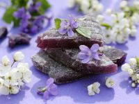 Violet Candies recipe