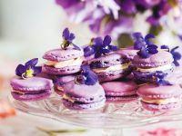 Violet Macaroons recipe