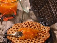 Waffles with Orange Marmalade recipe