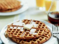 Waffles with Syrup recipe