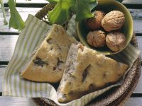 Walnut and Herb Focaccia recipe
