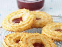 Walnut and Jam Swirls recipe