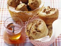Walnut-Honey Muffins recipe