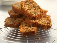 Walnut Pumpkin Seed Loaf Cake recipe