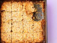 Walnut Raisin Bars recipe
