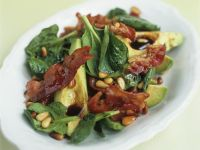 Warm Bacon and Avocado Salad recipe