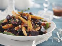 Warm Beet and Carrot Salad recipe