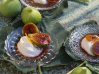 Warm Figs with Goat Cheese recipe