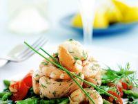 Warm Fish and Seafood Salad recipe