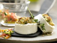 Broiled Goat Cheese recipe