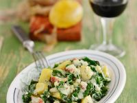 Warm Kale and Golden Potato Salad recipe