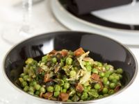 Warm Pea Salad recipe