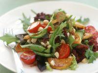 Warm Potato Salad with Leaves recipe