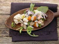 Warm Seafood Salad recipe
