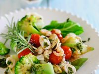 Seafood Salad with Vegetables recipe