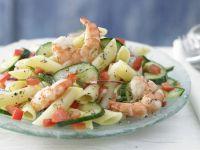 Warm Pasta and Cucumber Salad recipe
