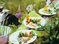 Watercress and Smoked Salmon Salad recipe