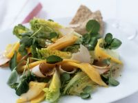 Watercress, Mango and Turkey Breast Salad recipe