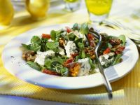 Watercress Salad with Blue Cheese and Bacon recipe