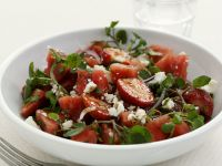 Watercress with Berries and Balsamic recipe