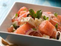 Watermelon and Feta Summer Salad recipe