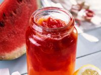 Watermelon and Lemon Jam recipe