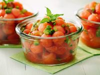 Watermelon, Pistachio, and Mint Salad recipe