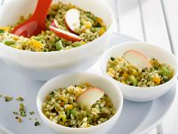 Wheat Berry Salad with Apricots recipe