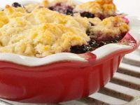 Wheat-free Bramble Cobbler recipe
