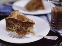 Wheat-free Caramel Apple Cake recipe