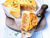 Wheat-free Sausage and Potato Pie recipe