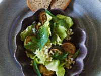 Wheat Zucchini Salad recipe