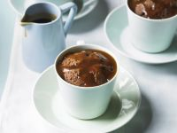 Whiskey Mocha Puddings recipe