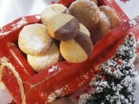 White and Dark Cookies recipe