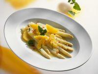White Asparagus Salad with Oranges recipe