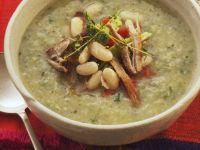 White Bean and Pork Bisque recipe