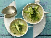 White Bean and Wild Garlic Soup recipe
